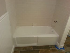After Bathtub Reglazing CA